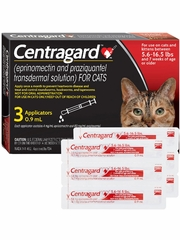 Centragard for Large Cats (6 Month)