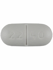 Cephalexin 500mg (per capsule) (Manufacturer may vary)