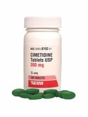 Cimetidine 300mg (100 Tabs) (Manufacturer may vary)