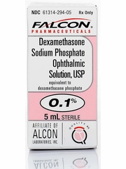 Dexamethasone Ophthalmic Solution (Manufacturer may vary)
