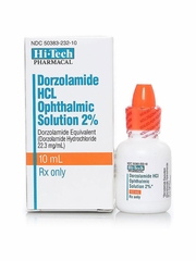 Dorzolamide HCl 2% 10ml (Manufacturer may vary)