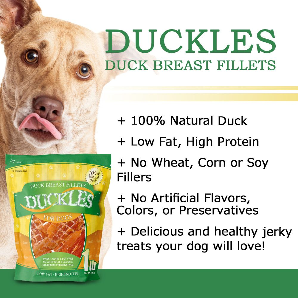 ValueBull Duck Breast Jerky Fillets for Dogs 25 Pound