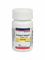 Enalapril Maleate 2.5 mg (per tab) (Manufacturer may vary)