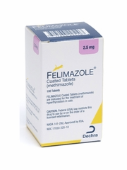 Felimazole Tablets for Cats 2.5 mg (100 Tablets)