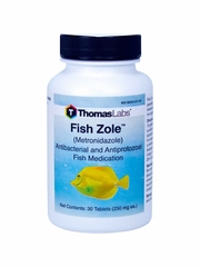 Fish Zole (Metronidazole) - 250mg (30 tablets)