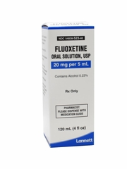 Fluoxetine Oral Solution USP 20mg/5mL *NON-RETURNABLE*