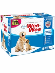 Four Paws Puppy Wee-Wee Pads 22 x 23 (150 Pads)