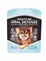 Frontline Oral Defense Daily Oral Health Chews for Dogs
