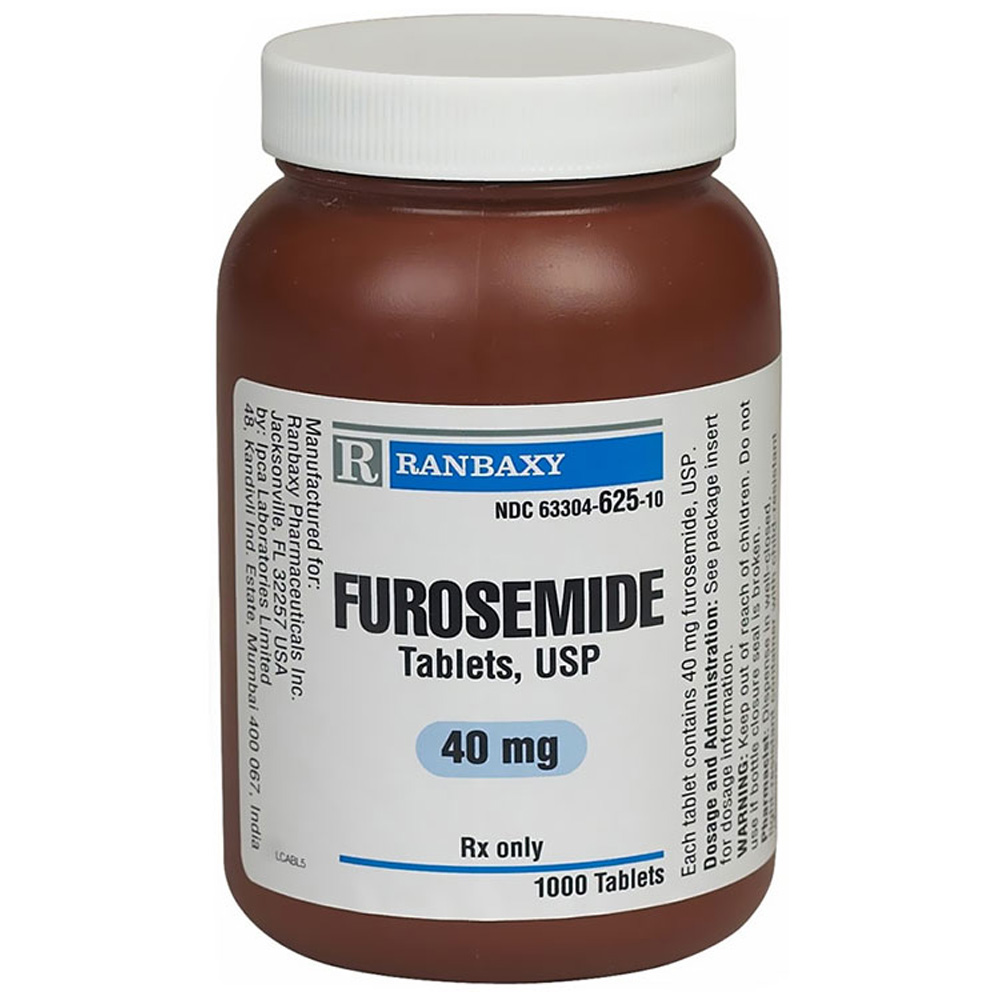 Furosemide 40 Mg 100 Tabs Manufacture May Vary