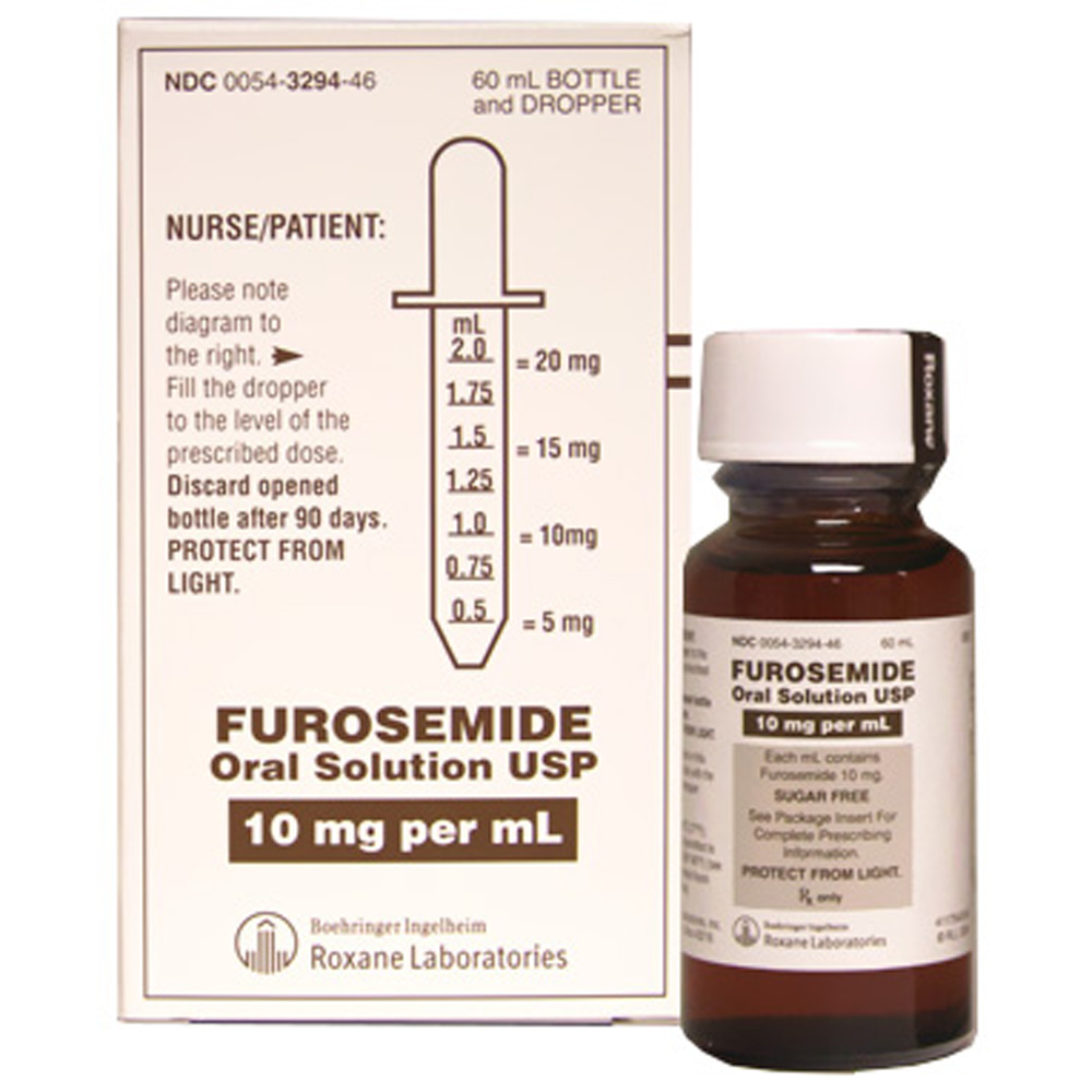 Furosemide Oral Solution 10mg Ml 60ml Manufacture May Vary