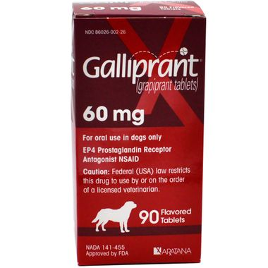 Galliprant Tabs 60mg 90 Tablets