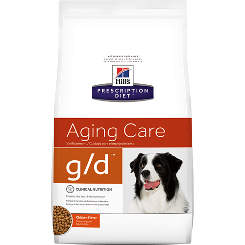 Hill's Prescription Diet g/d Canine Aging Care Chicken Flavor 8.5 lbs 8616