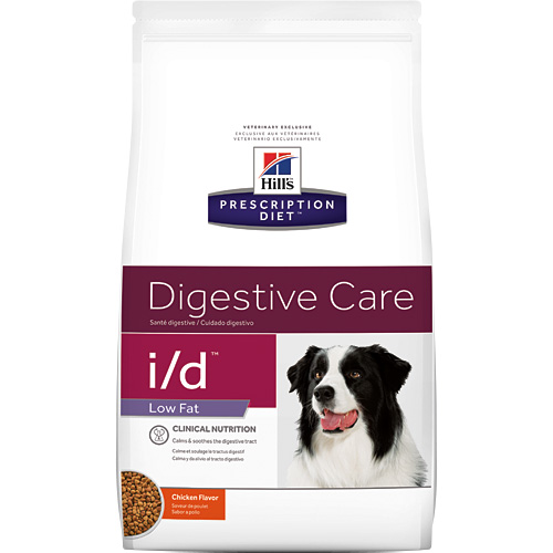 Hill's Prescription Diet i/d Low Fat Canine Digestive Care Chicken Flavor 8.5 lbs 1861