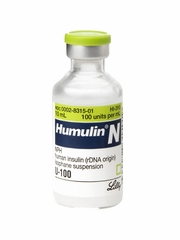 Humulin N Inj 100u/ml (10ml)