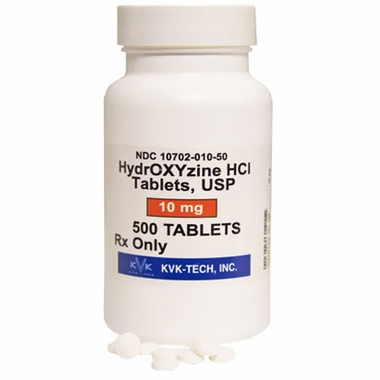 Hydroxyzine Manufacture may vary
