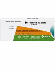 Incurin Tablets 1 mg, 30 Ct.