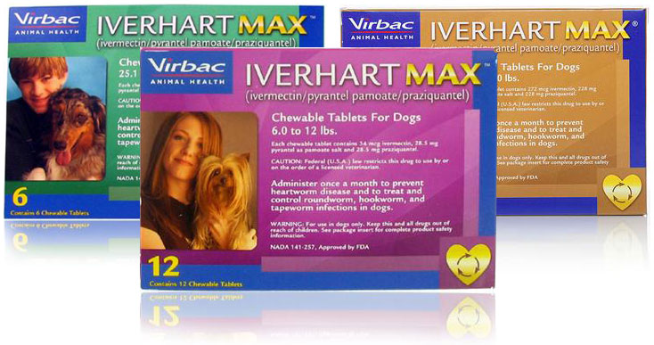 Iverhart MAX Chew Tabs for Dogs
