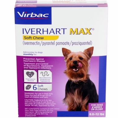 Iverhart Max Soft Chews for Dogs
