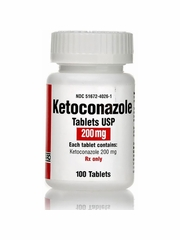 Ketoconazole (Manufacturer may vary)