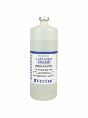 Lactated Ringer Solution - 1000 ml bottle (Manufacturer may vary)