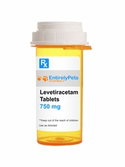 Levetiracetam Tab 750mg (120 tablets) (Manufacturer may vary)