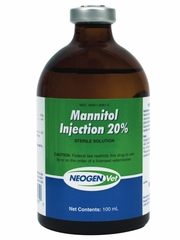 Mannitol 20% Injection (100 ml) (Manufacturer may vary)