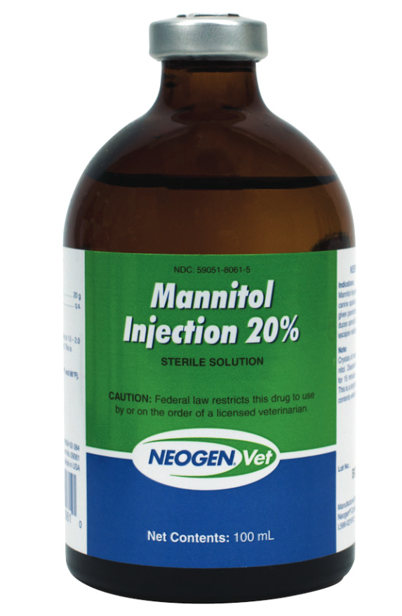 Mannitol 20 Injection 100 Ml Manufacture May Vary