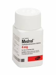 Medrol (methylprednisolone) (Manufacturer may vary)