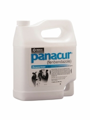 Panacur Horse and Cattle Dewormer Suspension, 1 Gallon