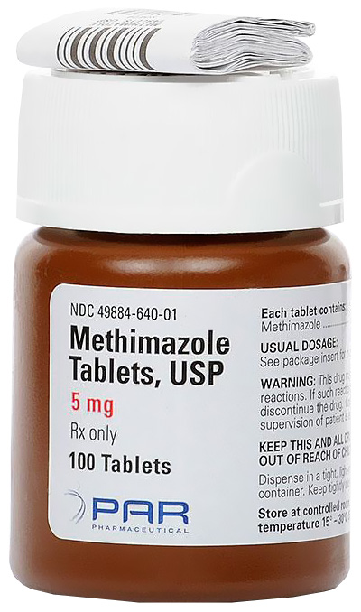 Methimazole (Manufacture may vary)