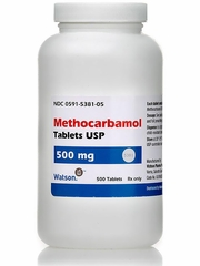 Methocarbamol (Manufacturer may vary)