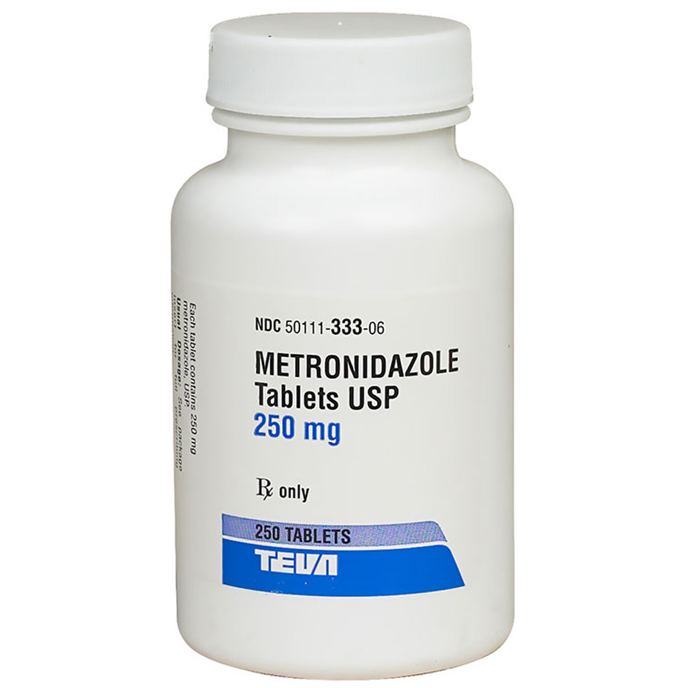 Metronidazole 250 mg (Per Tablet) (Manufacture may vary)