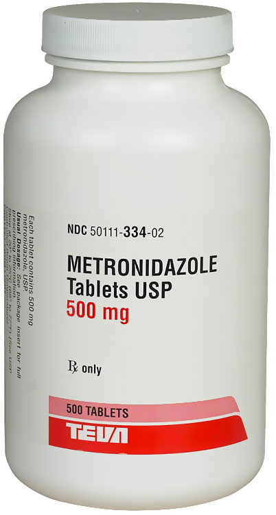Metronidazole (Flagyl) (Manufacture may vary)