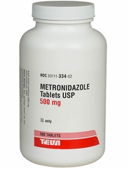 Metronidazole (Flagyl) (Manufacturer may vary)