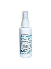 Miconosol Spray 1% (Miconazole Nitrate) 120 ML (4 oz) (Manufacturer may vary)