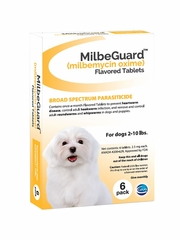 MilbeGuard Flavored Tablets for Dogs & Cats