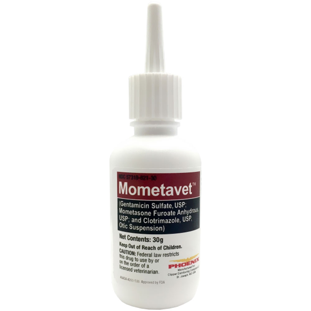Mometavet Otic Suspension for Dogs