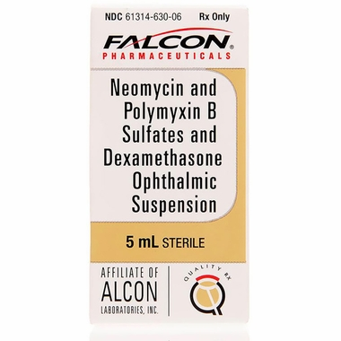 NeoPoly Dex Ophthalmic Suspension 5ml Manufacture may vary