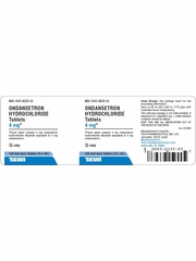 Ondansetron Tablets 4mg (per tablet) (Manufacturer may vary)