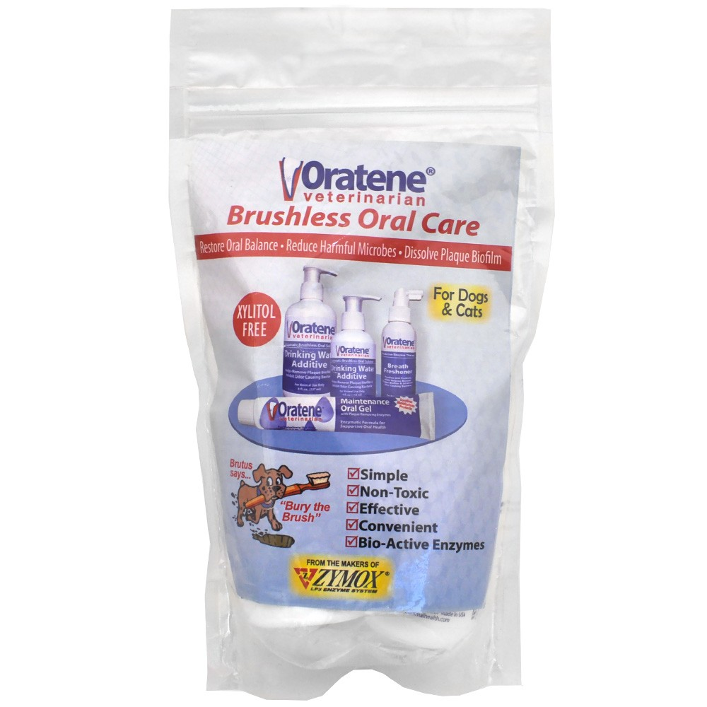 Oratene Brushless Oral Care Water Additive For Dogs Cats