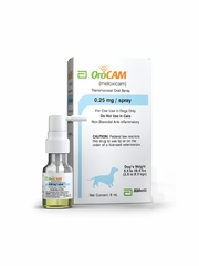 OroCam (meloxicam) Oral Spray for Dogs 0.25mg 6mL