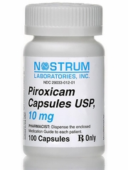 Piroxicam (Manufacturer may vary)