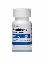 Primidone 250 mg (per tab) (Manufacturer may vary)