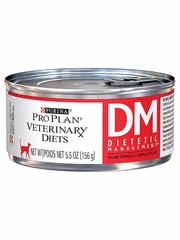 Purina Pro Plan Veterinary Diets - DM Dietetic Management Canned Cat Food (24x5.5 oz)