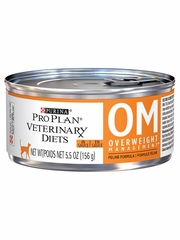 Purina Pro Plan Veterinary Diets - OM Overweight Management Canned Cat Food (24x5.5 oz)