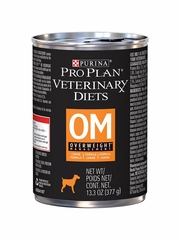 Purina Pro Plan Veterinary Diets - OM Overweight Management Canned Dog Food (12x13.3 oz)