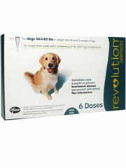 Revolution for Dogs, 40.1-85 lbs (6 Doses)