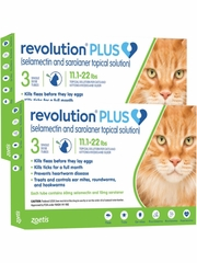 Revolution Plus Green for Cats 11.1 to 22 lb (6 month)