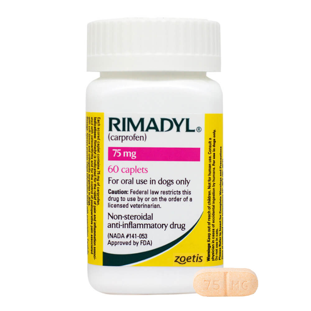 what is the dosage for rimadyl for dogs