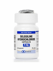 Selegiline 5mg (60 Capsules) (Manufacturer may vary)